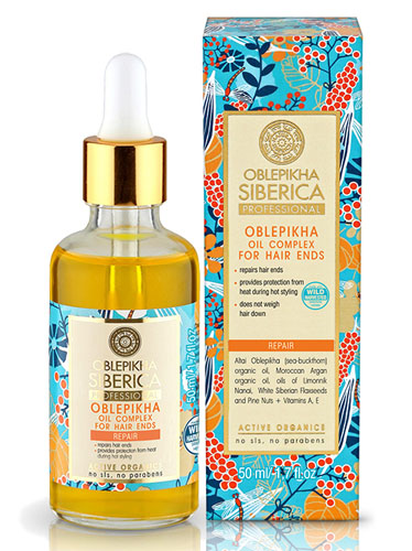 NATURA SIBERICA Professional Oblepikha Oil Complex for Hair Ends 50ml cbd13ce1b2d